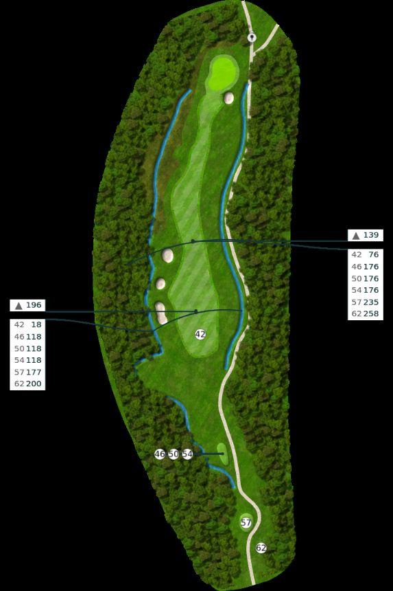 Nøtterøy Golf Illustrasjon bane 5